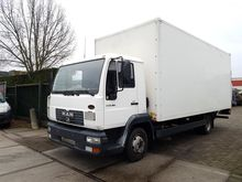 2004 MAN LE 8.180 Box with load