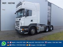 2011 Scania R560 6X2 DOUBLE BOO