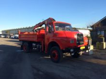 1982 MAN 15.192 4x4 Tipper + Cr