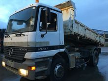 1999 Mercedes Benz 2031 Tipper