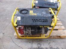 2009 Wacker Neuson GV2500A Gaso