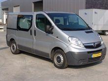 2007 Opel Vivaro Twin cab