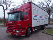 2000 Scania P94 BAKWAGEN Lorry