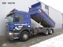 2006 Scania P340 6X4 DUMPER MAN