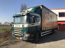 1999 Scania P114.340 6x2 Schuif