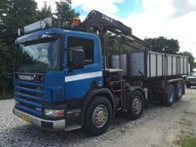 1998 Scania P124GB8X2B Lorry wi