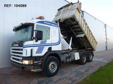 1997 Scania R124.400 6X2 DUMPER