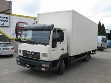 2001 MAN LE 9.180 Box with load