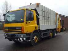2000 DAF 75 PC Garbage truck