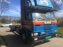 1985 Scania 92m Chassis cabin