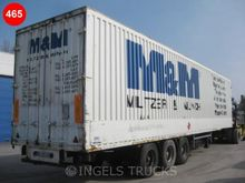 2001 box semi trailer Closed
