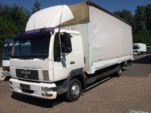 2003 MAN 8.224 KLIMA Curtain