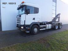 1997 Scania R144.460 6X2 HOOK M