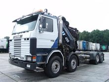 1988 Scania R143H 450 Lorry wit