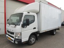 2013 Fuso Canter 3C13 Closed bo
