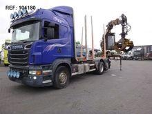 2011 Scania R730 6X2 TIMBER TRU