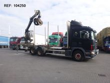2003 Scania 164.480 6X2 LOGLIFT