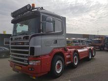 1998 Scania R144G-460 8X2 NCH K