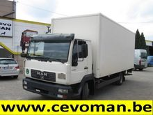 2001 MAN LE9.180 Box with load