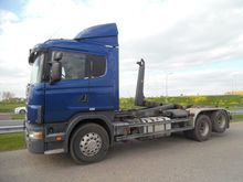 1999 Scania R124 6x2 Container