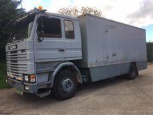 1985 Scania 82 Closed box