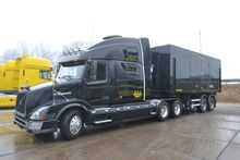 2012 Volvo VNL + Mobile LED scr