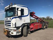 2000 Scania R144G6X2 4B Rear-st