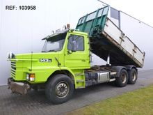 1991 Scania T143.450 6X2 TIPPER