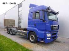 2008 MAN TGS26.440 6X2 BDF EURO