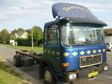 1987 MAN 12.170 chas. 6 cylinde