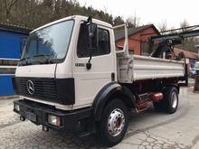 1991 Mercedes Benz 1729 SK Hiab
