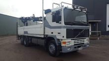 1991 Volvo F12 Lorry with crane