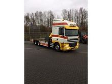 2002 DAF CF Open flatbed with c