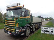 2005 Scania R420 LB 8x4 HNB Con
