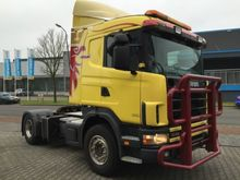 2002 Scania trekker Tractor uni