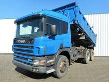 1999 Scania P 124 400 6X4 Tippe