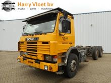1994 Scania P 93 280 Chassis ca
