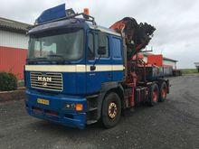 1999 MAN 26464 Lorry with crane