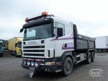 2002 Scania R124GBNB470 Tipper
