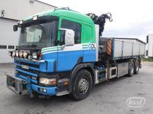 2001 Scania P114GB Tipper