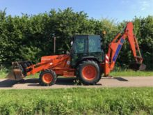 1994 Fiat Hitachi FT800 Backhoe