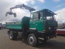 1988 DAF 1800 TURBO 4X4 KIPPER/
