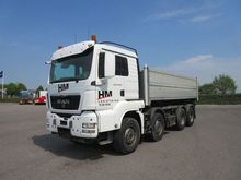 2008 MAN TGS 35.484 Tipper