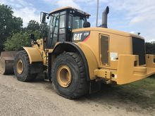 2008 Caterpillar 972H Wheel loa
