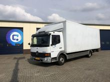 2001 Mercedes Benz Atego 818 Cl