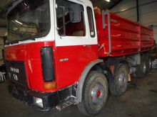 1982 MAN 32.331 8X4 KIPPER Tipp