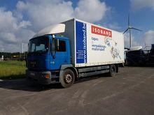 MAN 18.264 Box with load lift