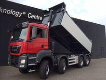 2017 MAN TGS 41.460 8x8 Tipper