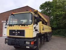 1996 MAN 26-302 Truck Crane