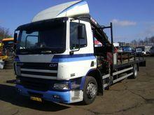 2005 DAF 75cf 250pk Truck Crane